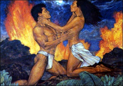 Lohi'au and Hi'iaka...star-crossed lovers...